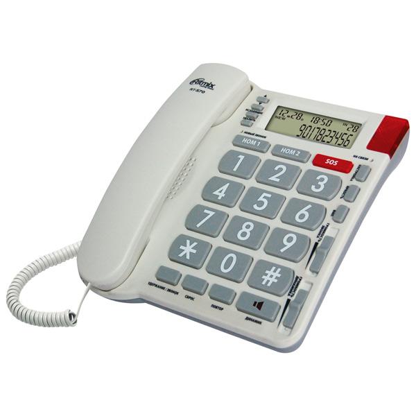 Телефон проводной Ritmix RT-570 Ivory