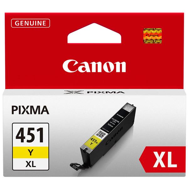Картридж для струйного принтера Canon CLI-451XL Yellow цвет 11
