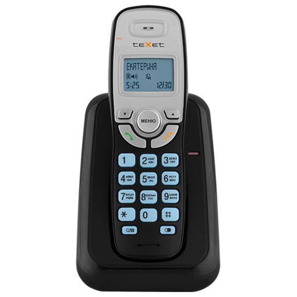 Телефон DECT teXet TX-D6905A Black