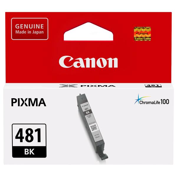 Картридж для струйного принтера Canon CLI-481 BK Black цвет 5