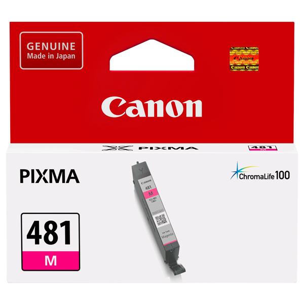 Картридж для струйного принтера Canon CLI-481 M Magenta цвет 5