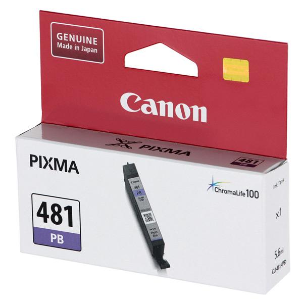Картридж для струйного принтера Canon CLI-481 PB Blue цвет 5
