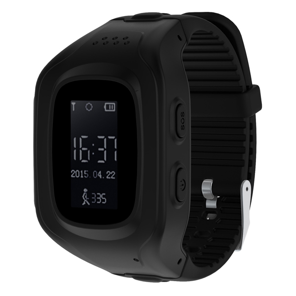 Часы с GPS трекером Jet Kid Next Dark Grey
