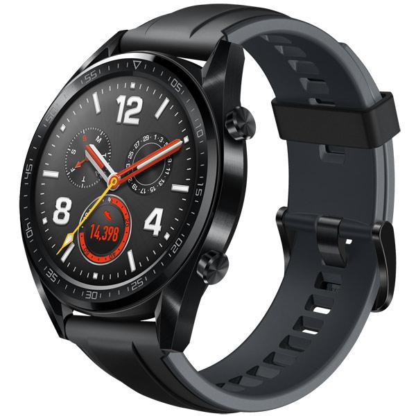 Смарт-часы Huawei Watch GT Steel Black (FTN-B19)