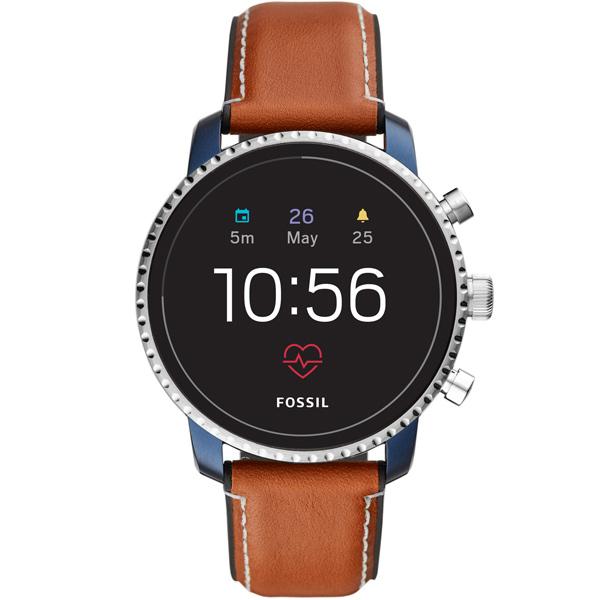 Смарт-часы Fossil Gen 4 - Explorist HR Tan Leather
