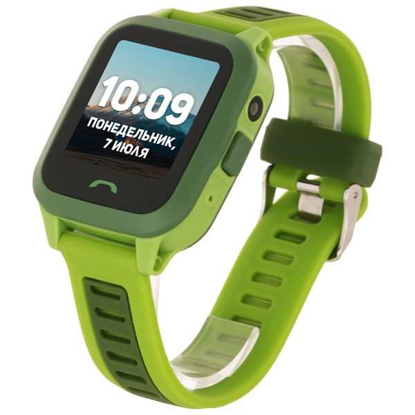 Часы с GPS трекером Geozon Active Green (G-W03GRN)