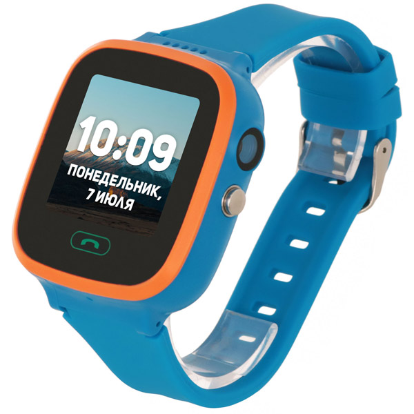 Часы с GPS трекером Geozon Aqua Blue (G-W04BLU)