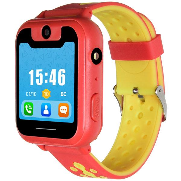 Часы с GPS трекером Digma Kid K7m Red/Yellow