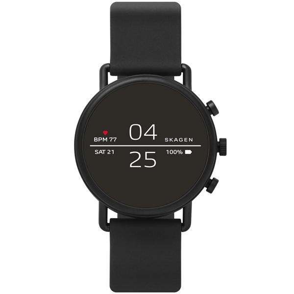Смарт-часы Skagen Falster 2 Black / Black Silicone