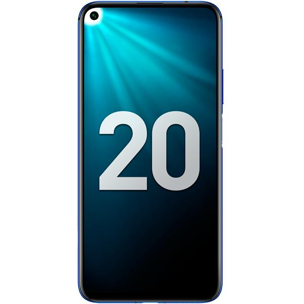 Смартфон Honor 20 128Gb Sapphire Blue (YAL-L21) фото