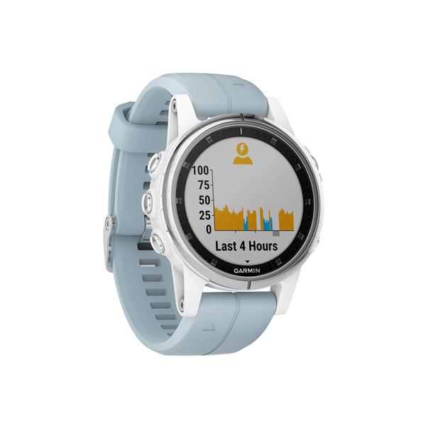 Спортивные часы Garmin Fenix 5S Plus Glass White