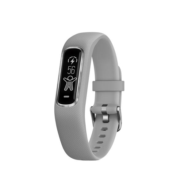 Фитнес-трекер Garmin Vivosmart 4 Gray/Silver S/M