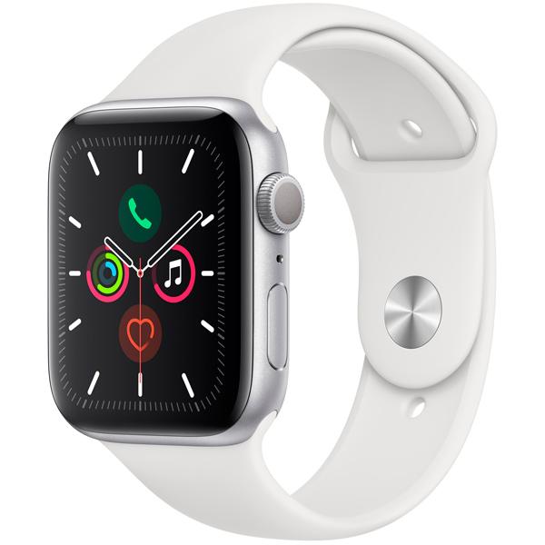 Смарт-часы Apple Watch S5 44mm Silver Sport Band (MWVD2RU/A)