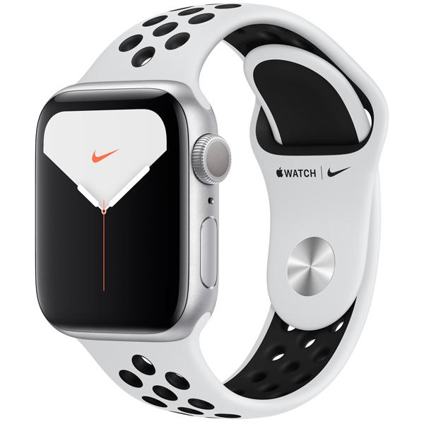 Смарт-часы Apple Watch S5 Nike+ 40mm Silver Sport Band (MX3R2RU/A)