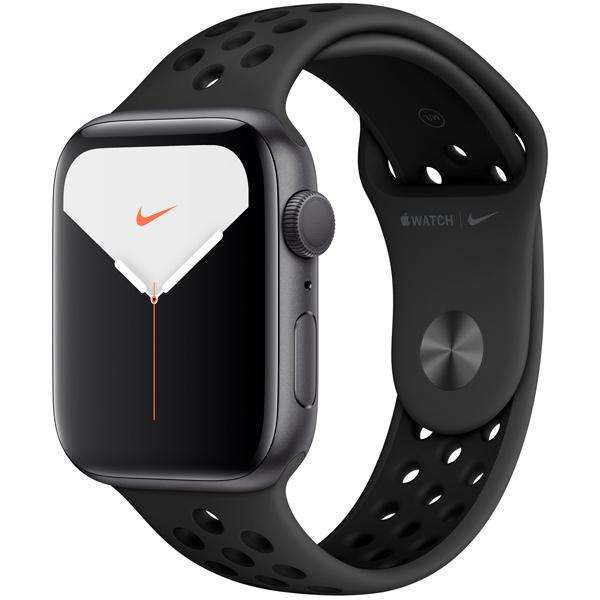 Смарт-часы Apple Watch S5 Nike+ 44mm SpGrey Sport Band (MX3W2RU/A)