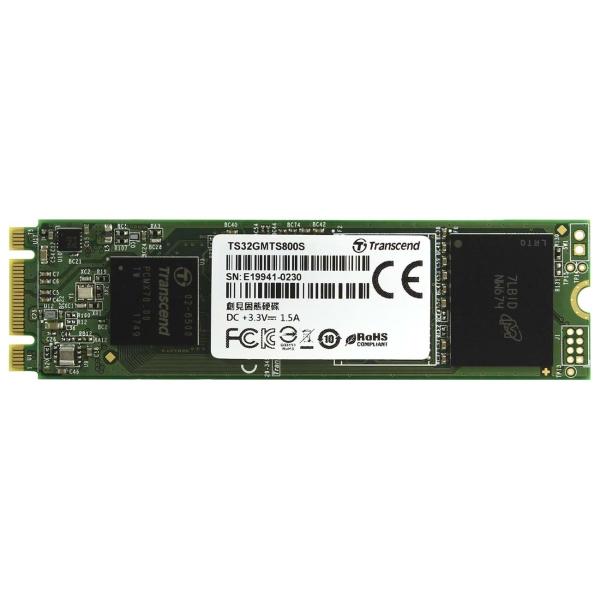 Внутренний SSD накопитель Transcend 32GB 800S (TS32GMTS800S) фото