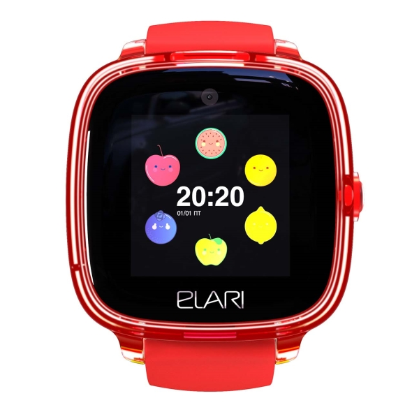 Часы с GPS трекером Elari KidPhone Fresh KidPhone Fresh Red (KP-F) фото