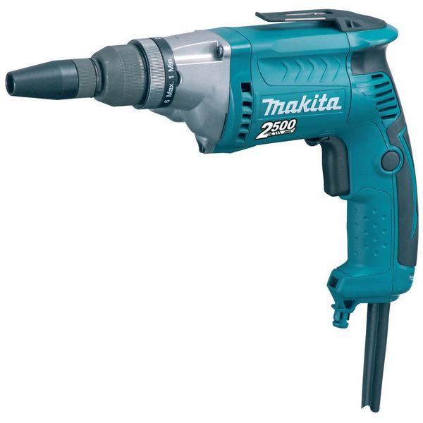Винтоверт электрический Makita FS2700 синего цвета