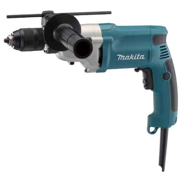 Дрель электрическая Makita DP4011 синего цвета
