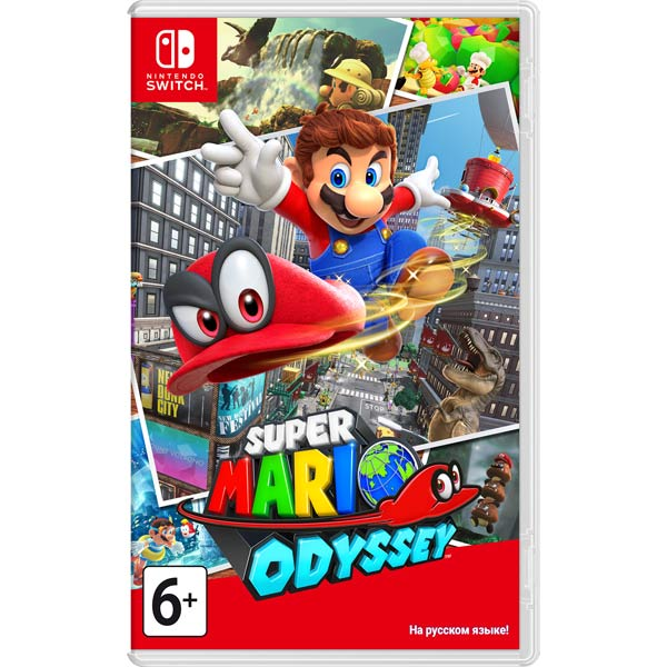 Игра Nintendo Switch Super Mario Odyssey фото