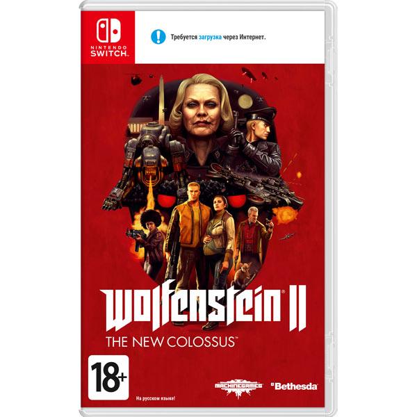 Игра Nintendo Switch Wolfenstein II - The New Colossus фото