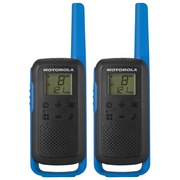 Рация Motorola Talkabout T62 Blue/Black (2 штуки)