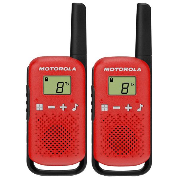 Рация Motorola Talkabout T42 Red/Black (2 штуки)