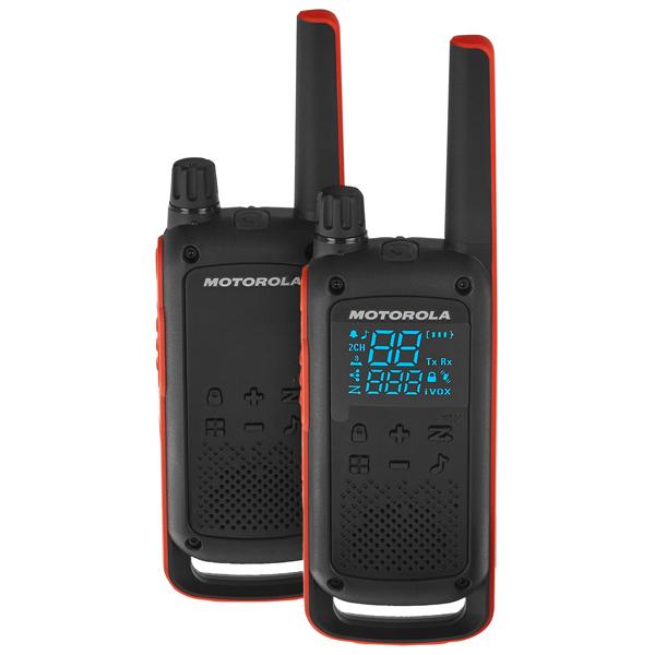 Рация Motorola Talkabout T82 Red/Black (2 штуки)