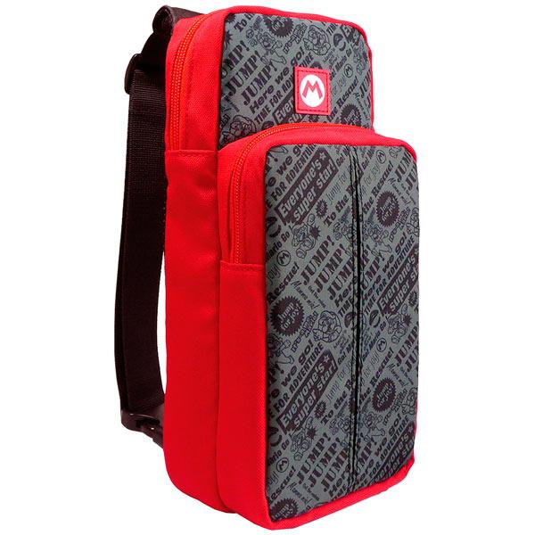 Аксессуар для игровой приставки Hori Наплечная сумка Go Pack Super Mario фото
