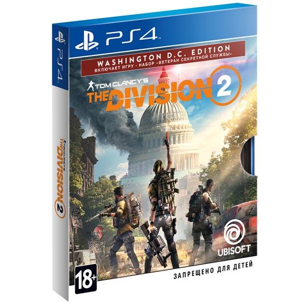 PS4 игра Ubisoft Tom Clancy's The Division 2. Washington Edition фото