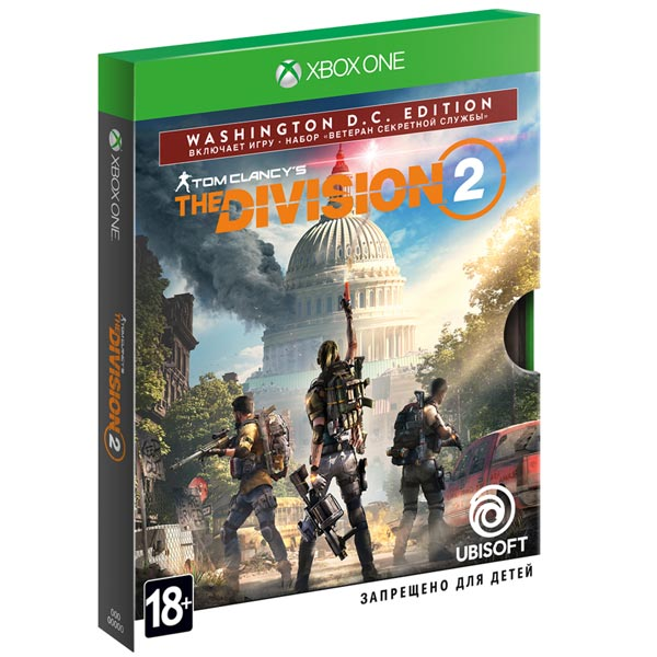 Xbox One игра Ubisoft Tom Clancy's The Division 2. Washington Edition фото