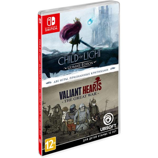 Игра Nintendo Switch Child Of Light+Valiant Hearts Ubisoft фото