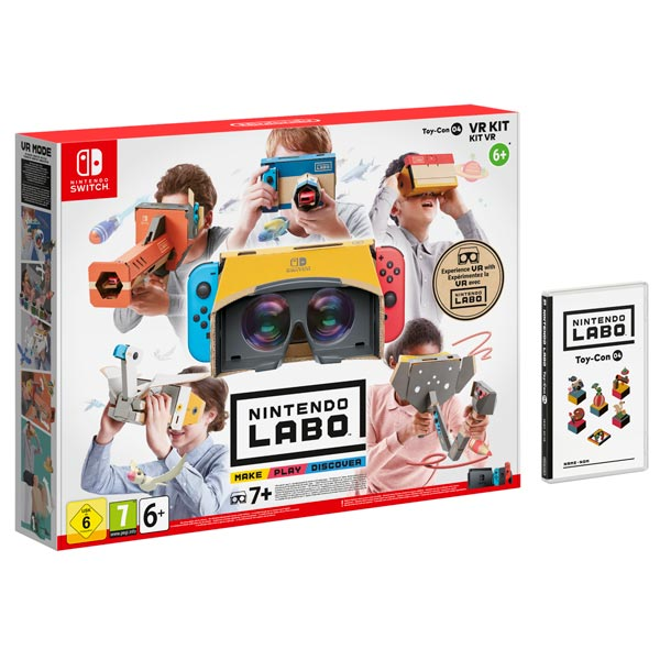 Игра Nintendo Switch Labo: VR Kit фото