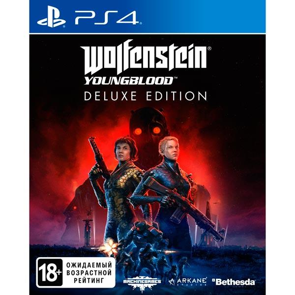 Купить PS4 игра Bethesda Wolfenstein: Youngblood. Deluxe Edition в каталоге интернет магазина М.Видео по выгодной цене с доставкой, отзывы, фотографии - Москва