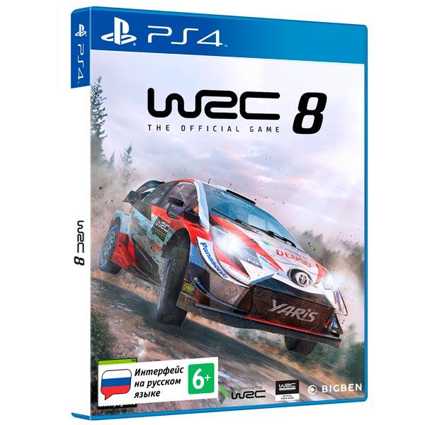 PS4 игра Bigben Interactive WRC 8 фото