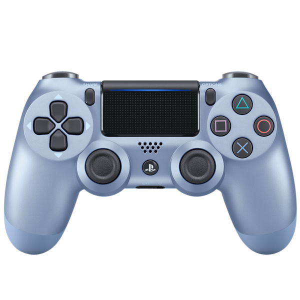Купить Геймпад для консоли PS4 PlayStation DualShock v2 Titanium Blue (CUH-ZCT2E) в каталоге интернет магазина М.Видео по выгодной цене с доставкой, отзывы, фотографии - Санкт-Петербург