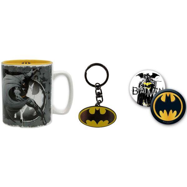 Сувенир ABYstyle Кружка+ брелок+значки DC Comics: Batman фото