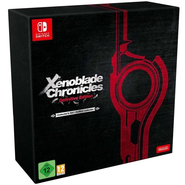 Игра Nintendo Switch Xenoblade Chronicles: Definitive Edition.О фото