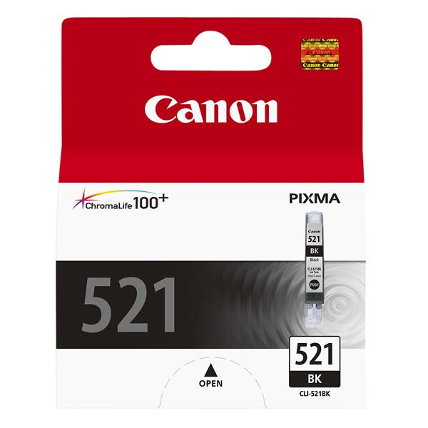 Картридж для струйного принтера Canon CLI-521BK черного цвета
