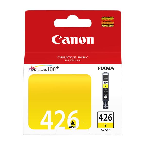 Картридж для струйного принтера Canon CLI-426Y Yellow цвет 9