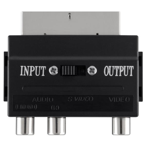 Переходник для кабеля Belkin SCART-S-Video/3xRCA мама (F3Y051bf)