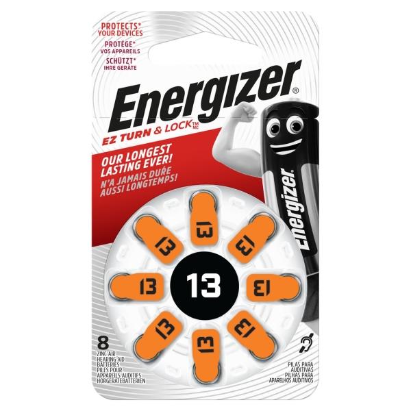 Батарея для слухового аппарата Energizer Zinc Air 13 DP-8