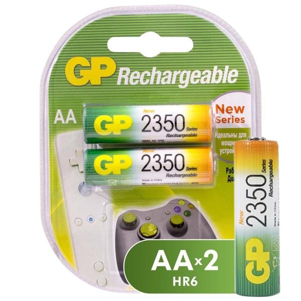 Купить Аккумулятор GP АA (LR6) 2 шт. (235PROAAHC-2CR2) в каталоге интернет магазина М.Видео по выгодной цене с доставкой, отзывы, фотографии - Самара