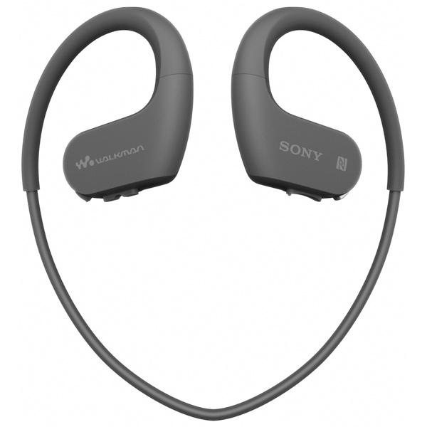 Наушники - Плеер Sony NW-WS623/BM черного цвета