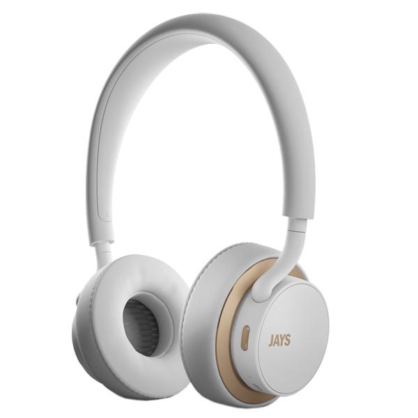 Наушники Bluetooth Jays U-Jays Wireless White/Gold (T00184) фото