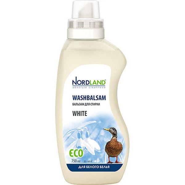Жидкость для стирки Nordland для белого белья, 750мл (391046)