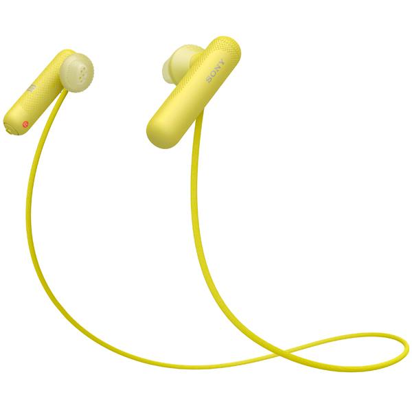 Спортивные наушники Bluetooth Sony WI-SP500/YQ Yellow