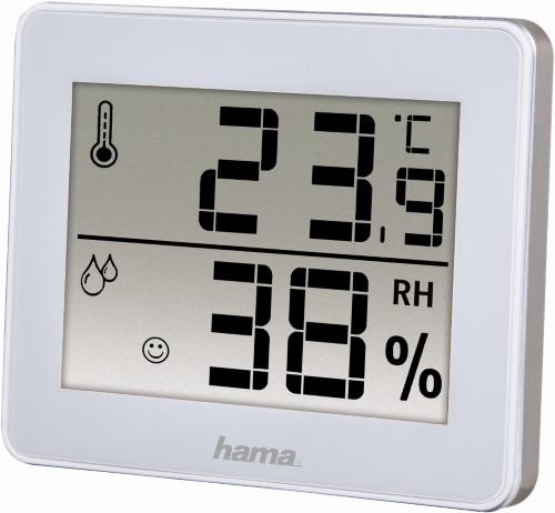 Метеостанция Hama TH-130 White (00136260) белого цвета