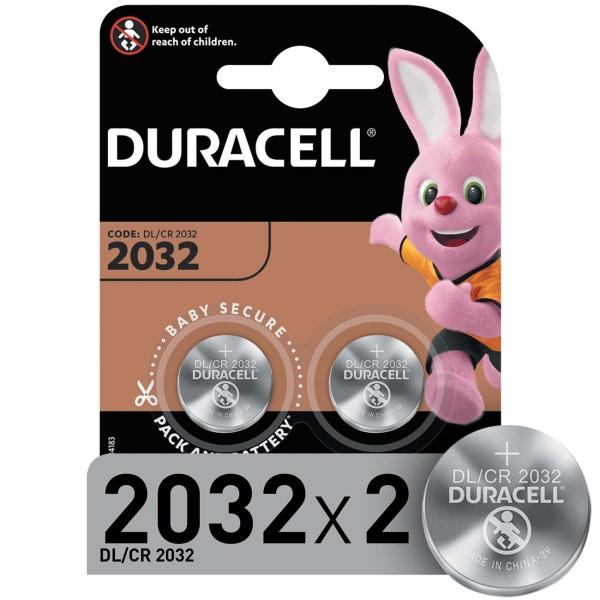Батарея Duracell CR2032-2BL 2 шт
