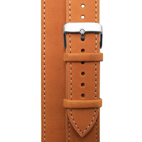 Ремешок Cozistyle Double Tour Leather Watch Band Tan